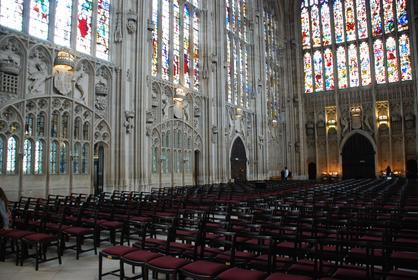 intérieur de la Chapelle de King's College