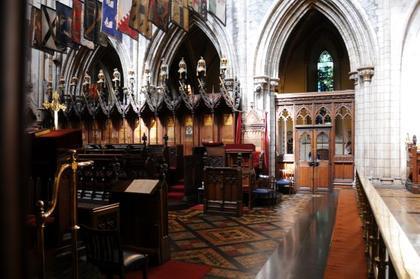 Dublin - Choeur de St Patrick's Cathedral