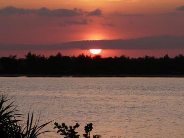 coucher de soleil sur Gili Trawangan