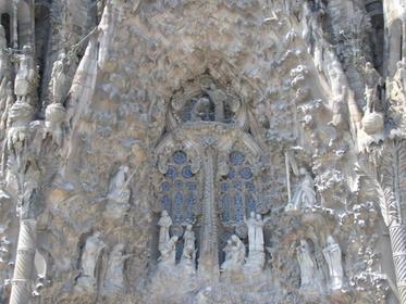 Façade de la nativité, Sagrada Familia