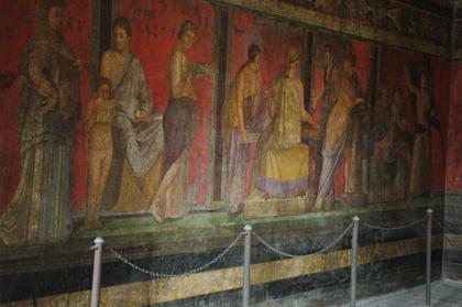 Pompei : Villa dei Misteri