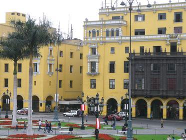 Historic heart of Lima