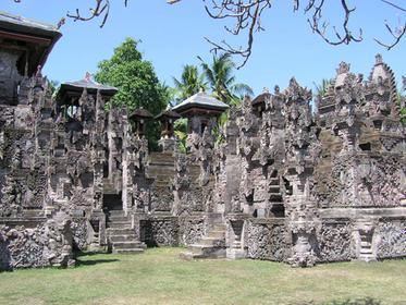 le temple : véritable forêt de pierres