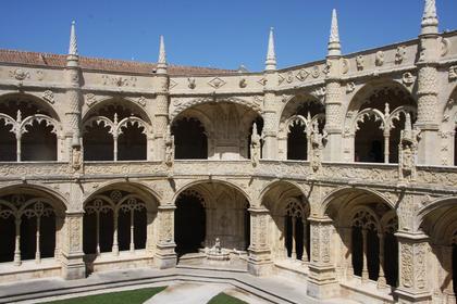 Hieronymite Monastery: Cloister