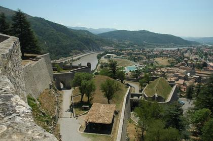 Sisteron vu depuis la Citadelle
