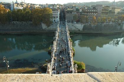 Rome : Pont Sant'Angelo