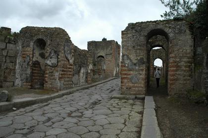 Pompei : porte d'Ercolano