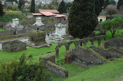 Pompei : Via delle Tombe