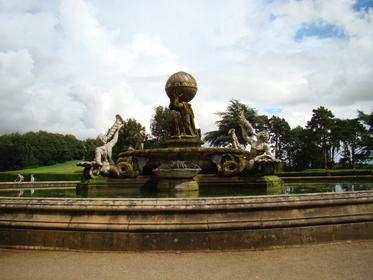 Parc de Castle Howard : la Fontaine d'Atlas