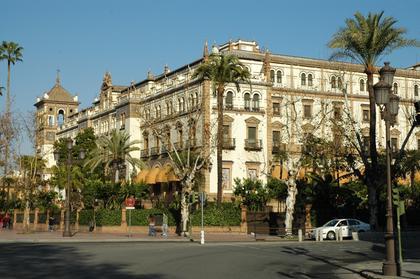 Séville : Hôtel Alfonso XIII