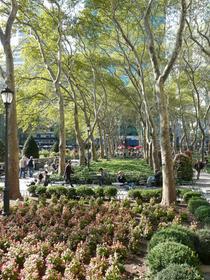Bryant Park, derrière la bibliothèque, un endroit à ne pas manquer