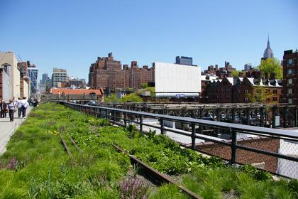 The hHigh Line - voie verte