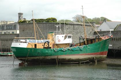 Concarneau : le chalutier du Musée de la Pêche