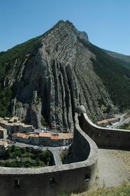 Le Rocher de la Baume vu depuis la citadelle