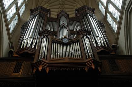 Bath : intérieur de l'Abbaye