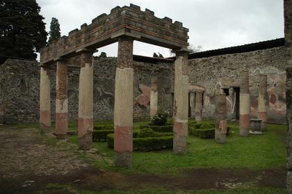 Pompei : villa de Diomède