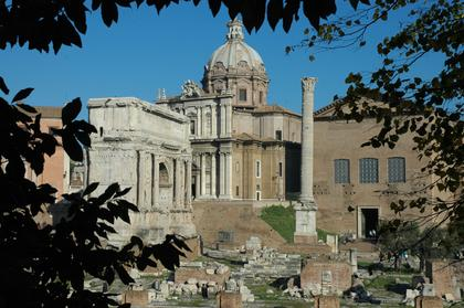 Rome : Basilique Emilia