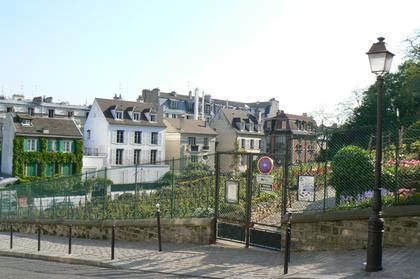 The Montmartre Vineyard