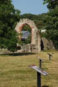 Les ruines de l'Abbaye St-Augustin