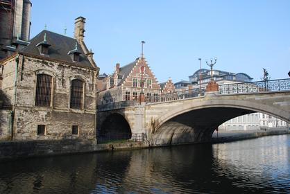 Gand : Pont St-Michel