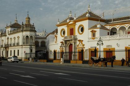 Séville : les arènes (Real Maestranza)