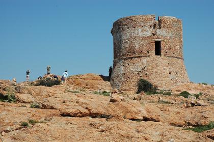 la tour génoise de Capa Rosso