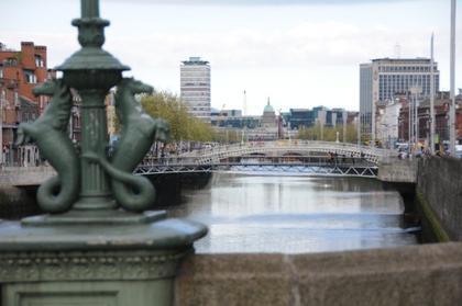 Dublin - Ponts sur la Liffey