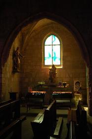Aigues-Mortes : intérieur de l'Église N.-D.-des Sablons