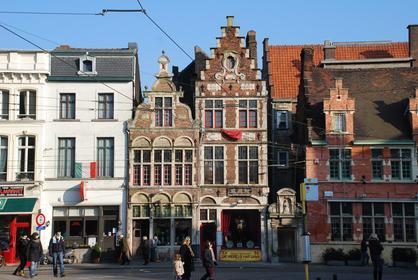 Gand : Place Ste-Pharaïlde