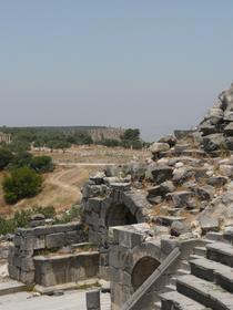 West Theatre, Site of Umm Qais (Gadara)