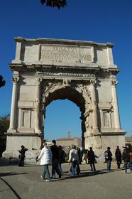 Rome : Arc de triomphe de Titus
