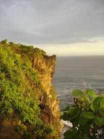 Vue du temple de Uluwatu