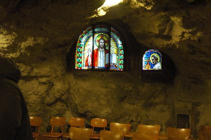 Budapest : la Chapelle de la Grotte