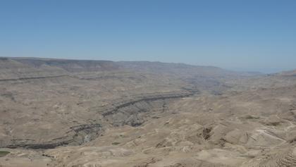 Canyon of Wadi Mujib