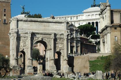 Rome : Arc de Septime-Sévère
