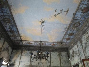 plafond du salon d'été