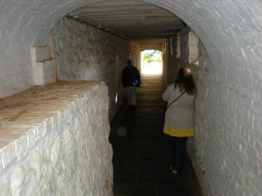Passage sous la maison