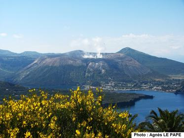 VULCANO, vue depuis Lipari