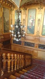 Escalier de la Villa Lumière (depuis l'étage)