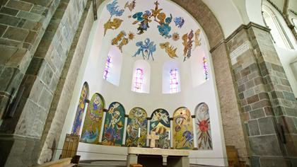 Ribe Cathedral - Decoration by Carl Henning Pedersen