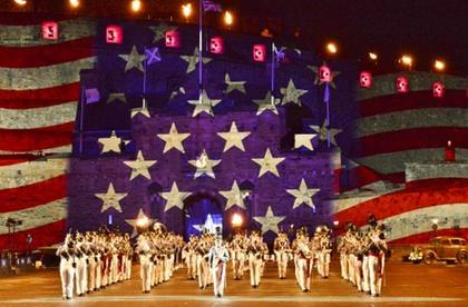 America's Band 2015 - The Citadel at Royal Edinburgh Tattoo