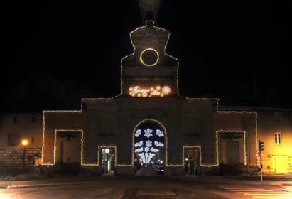 Porte Saint Pierre en hiver