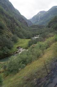 Vue depuis le train