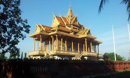 La pagoda proxima
