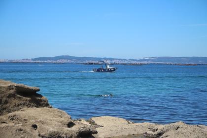 Ria de Arousa : les parcs à moules
