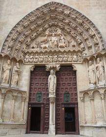 Cathédrale de Burgos : porche