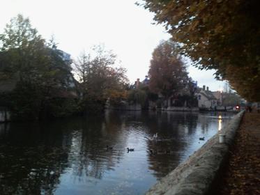 Bords du canal