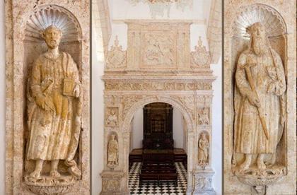 Portal de la capilla del Rosario