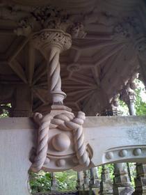 Intérieur d'une gloriette