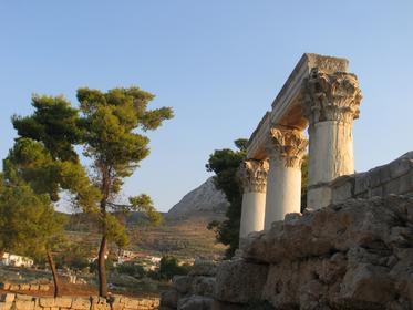 Antica città di Corinto